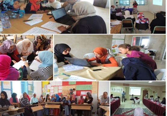 Renforcement de capacités des femmes et appui au développement rural